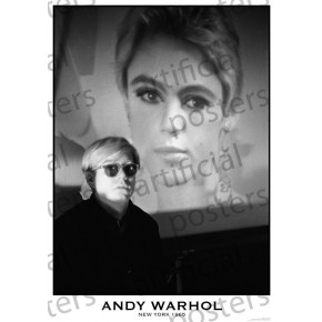 Andy Warhol (New York 1965) Poster