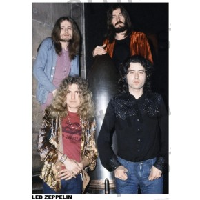 Led Zeppelin (1972) Poster
