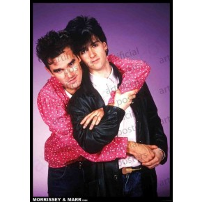 Smiths (Morrissey & Marr 1984) Poster
