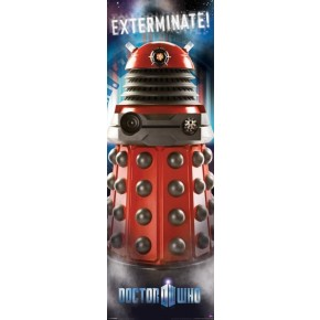 Doctor Who Dalek (Exterminate) Door Poster