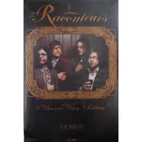 Raconteurs Broken Boy Giant Promo Poster