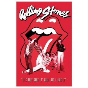 Rolling Stones Only Rock N Roll Poster