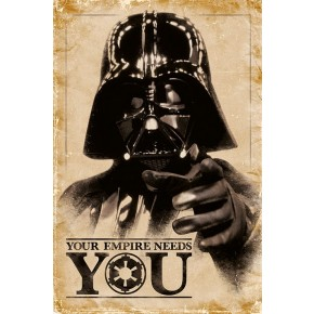 Star Wars (Your Empire Needs You) Poster