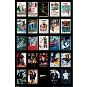 James Bond (Movie Posters) Poster