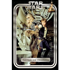 Star Wars Classic (Han and Chewie) Poster