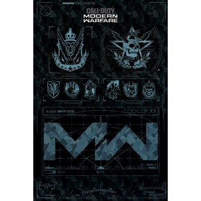 Call Of Duty Modern Warfare (Factions) Poster