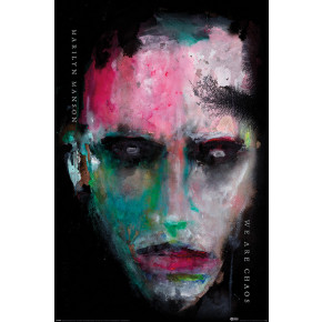 Marilyn Manson (We Are Chaos) Poster